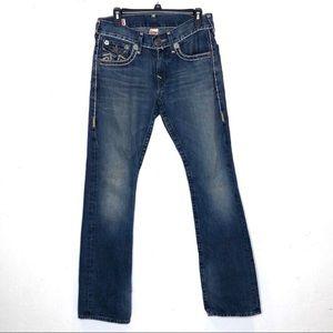 True Religion Ricky Super T straight jeans.